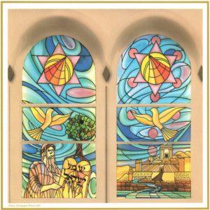 Les vitraux de notre Synagogue